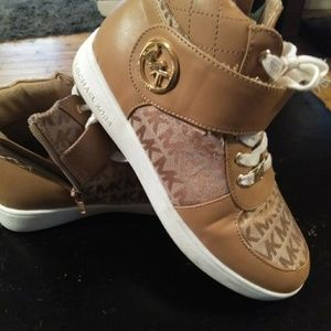 MK Jacquard Style High Tops Size 4